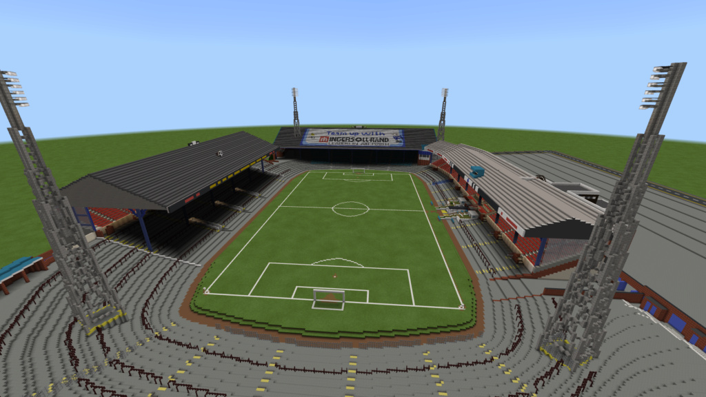 Recreating Burnden Park in Minecraft in time for the 75th anniversary of the disaster Minecr31
