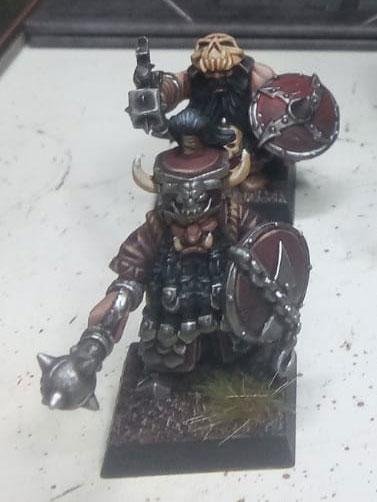 chaos - Chaos Dwarfs warband wip - Page 2 Dwarfs10