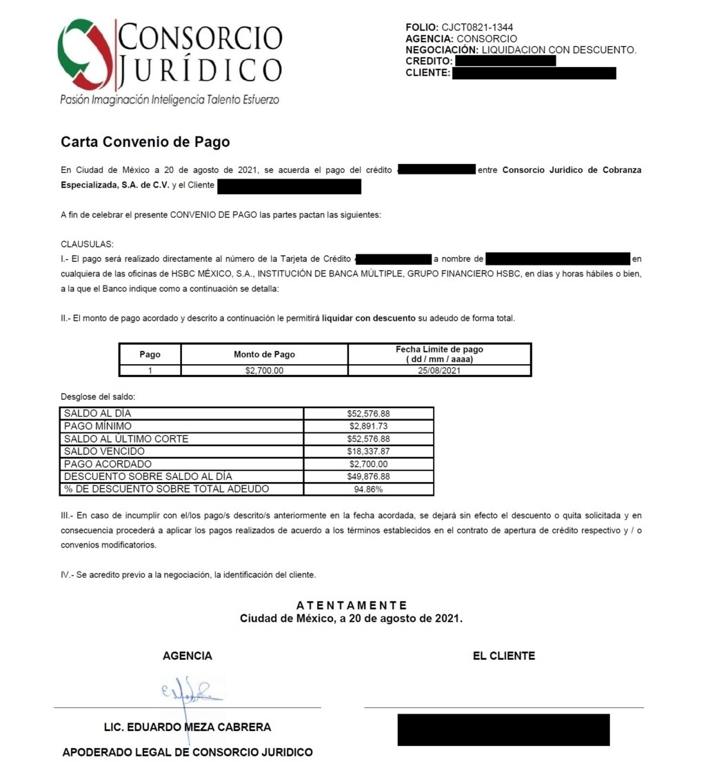 TARJETA DE CREDITO HSBC ADBANCE Corsor11
