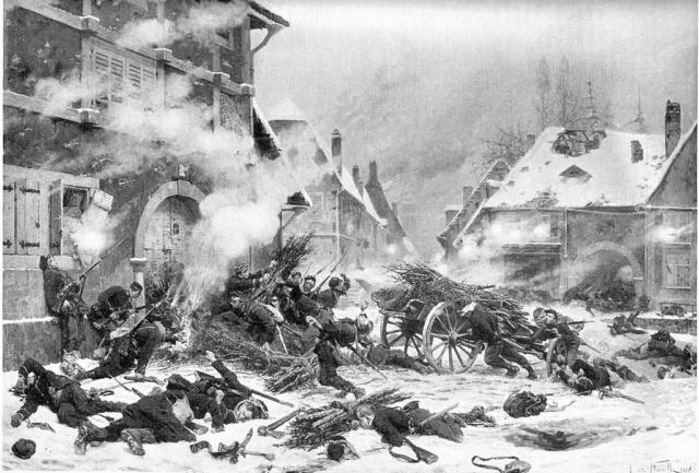 Guerre de 1870 Deux victoires françaises 1024px11