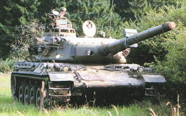 AMX 30 Daguet, Souvenir, souvenir… Amx3010