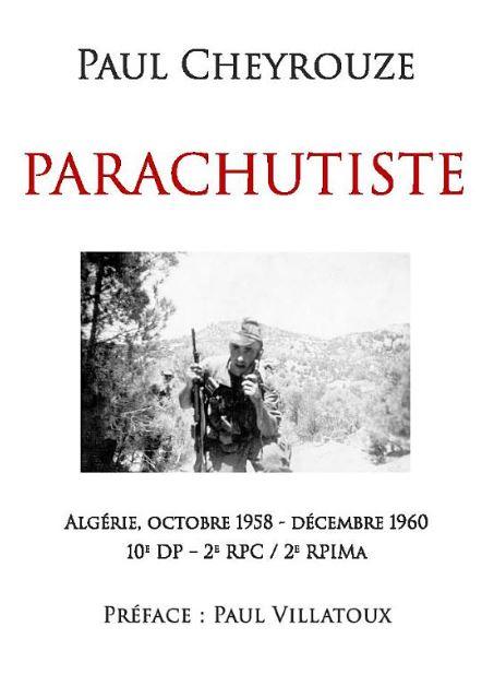 Livre : Parachutiste Parach10
