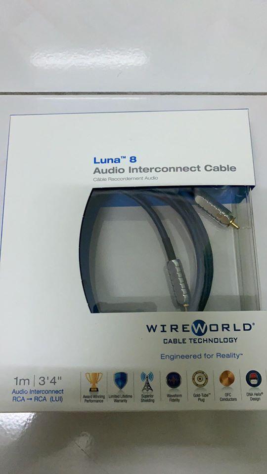 Wireworld Luna 8 Rca Interconnect -1meter (sold) 10054810