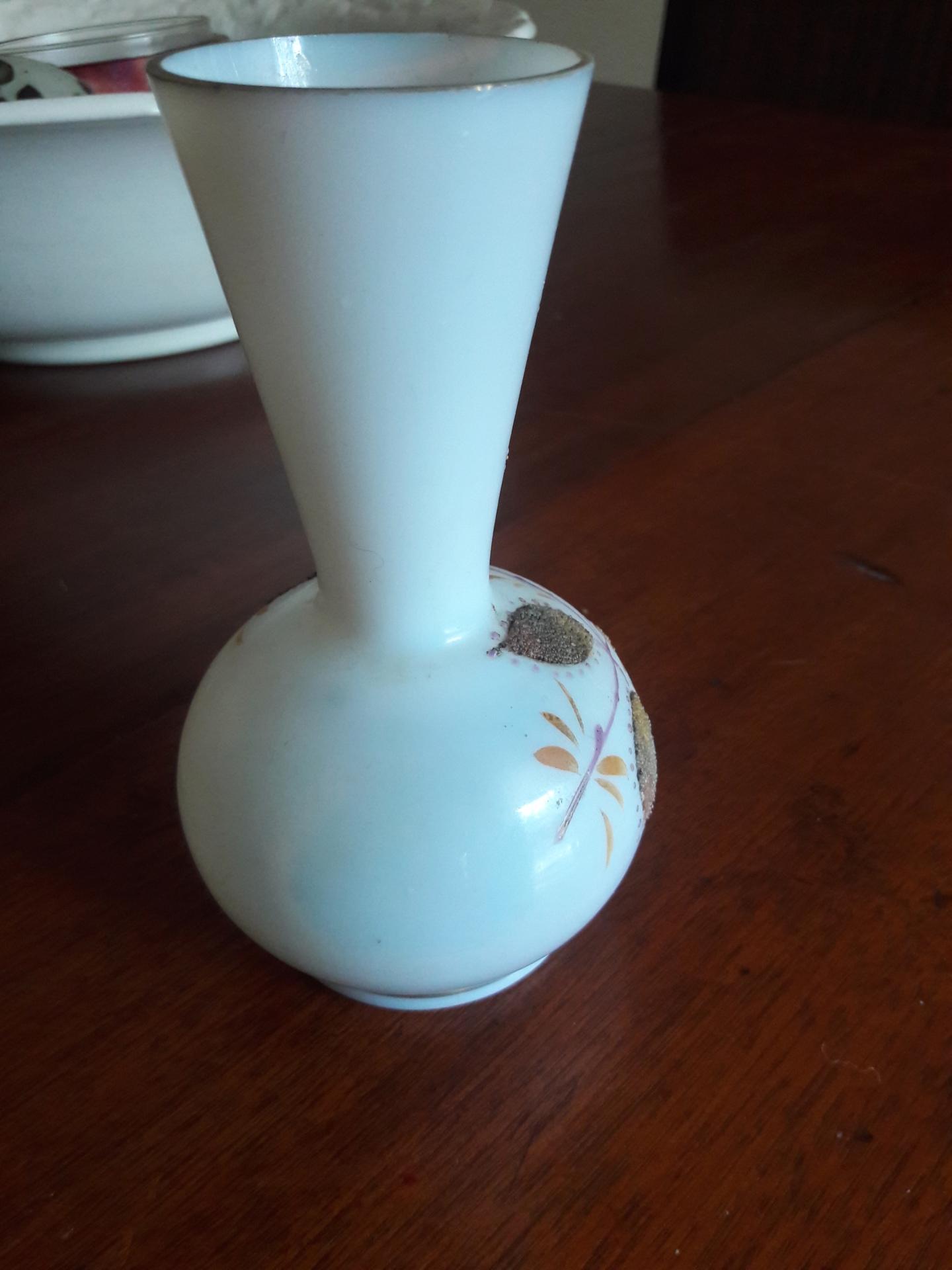 Small white vase 20200717