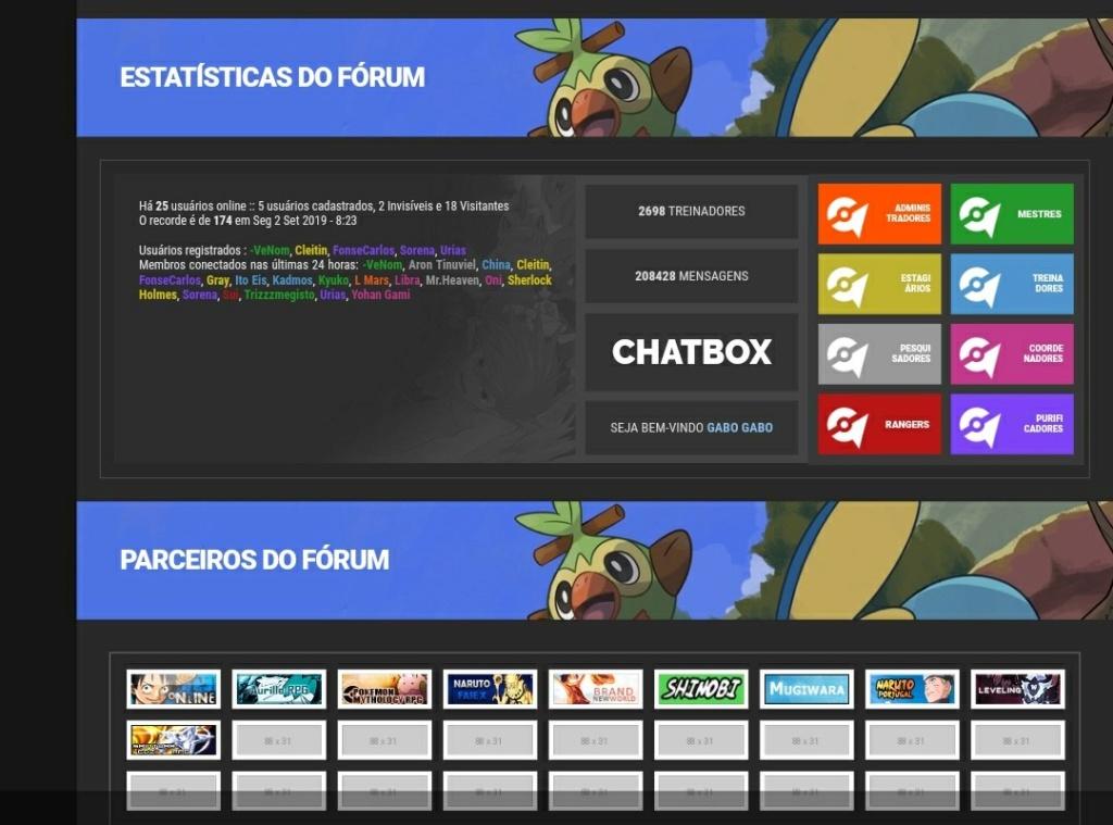 Área de estatísticas personalizada Screen15