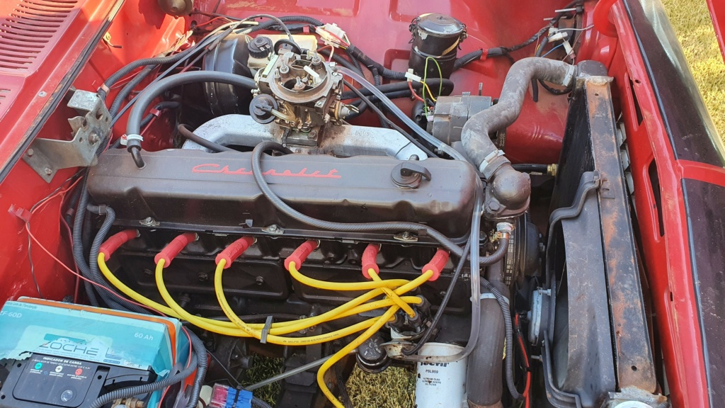 Opala 6cc Coupe 75 Motor_10