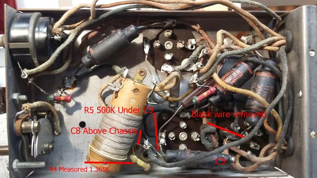 Restoration of a three tube radio Cha17_10