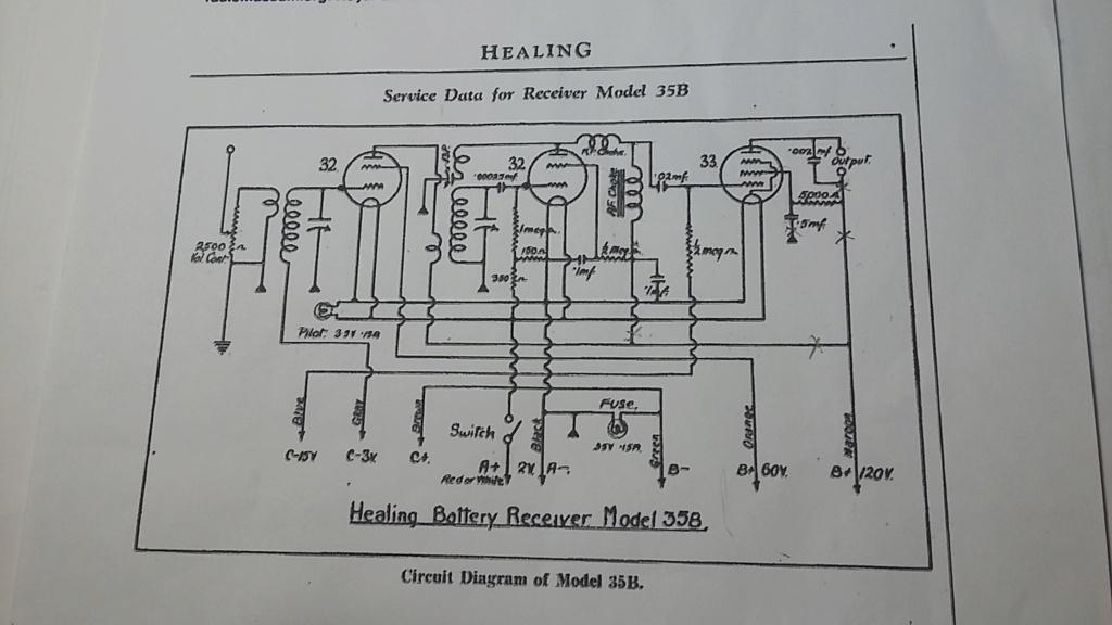 Restoration of a three tube radio Healin11