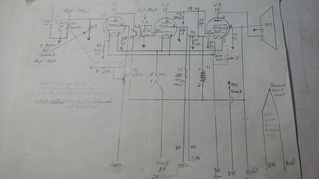 Restoration of a three tube radio Rlf_sc10