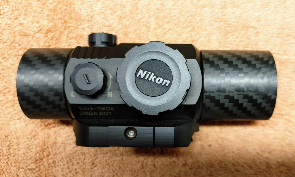 Sold: Nikon P-Tactical Superdot 2 MOA with Graphite Shades 20210412