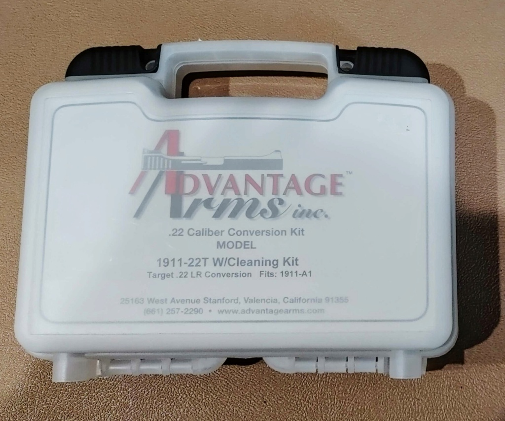 Sold: Advantage Arms Target 22 Conversion for 1911 20210923