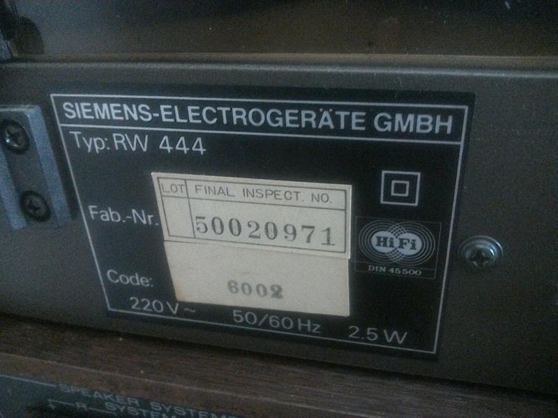 Giradischi Siemens rw 444 (???) Img_2010