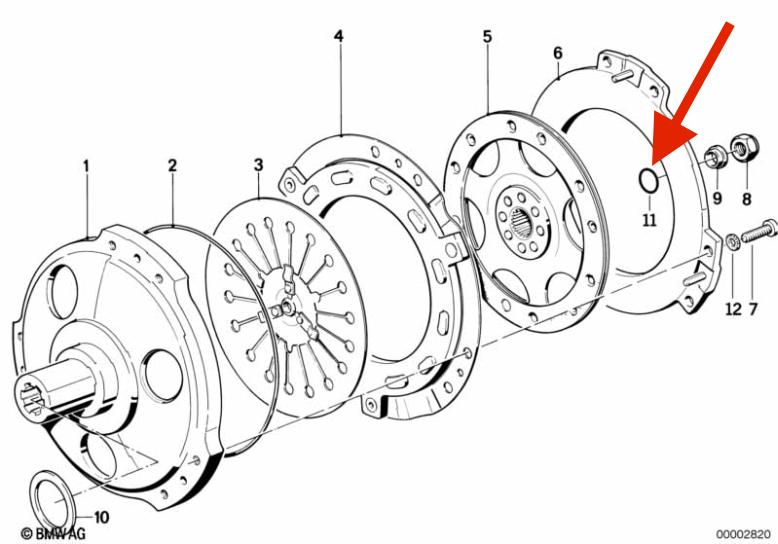 Rear Main Seal Leaking O-ring10