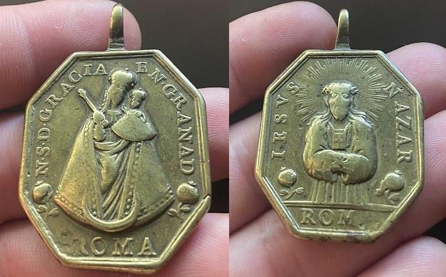 Ntra. Sra. de Gracia de Granada / Jesús Nazareno, S.XVIII Delant10