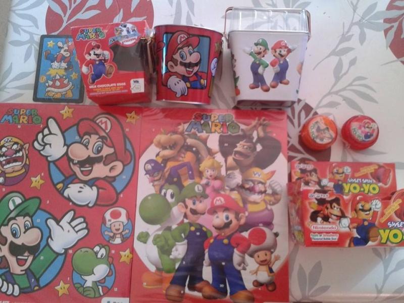 Figurines Mario 2014 chez Mac Do...   11401110