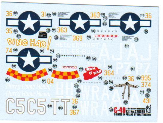 Multi-présentations MASTERCRAFT d avions au 1/72ème 1_03110