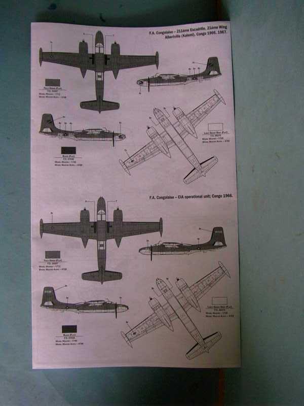 Multi-présentations ITALERI DOUGLAS A 26 C / K INVADER 1/72ème Réf 1259 & 1249 et REVELL DOUGLAS A 26B INVADER 1/72ème Réf 04310 Imag0036