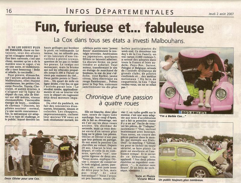 PHOTOS p4 - Malbouhans 2007 - Run day's N°2 - Page 3 Articl10