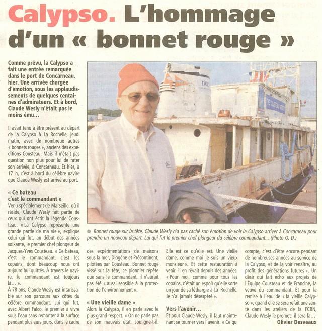 [AUTRES SUJETS DIVERS] LA CALYPSO - Page 2 0311