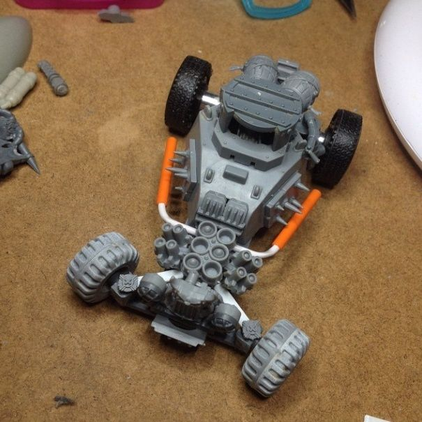 HOT ROAD (madmax) ORK création Buggy-10