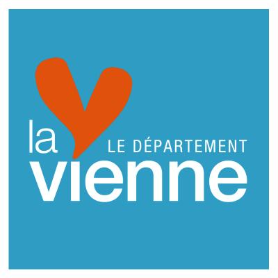 Nouveau logo du Département de la Vienne (2015) Cd8610