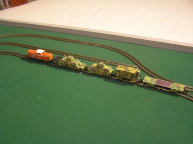 Montage d'un train blindé, base papier P1010012