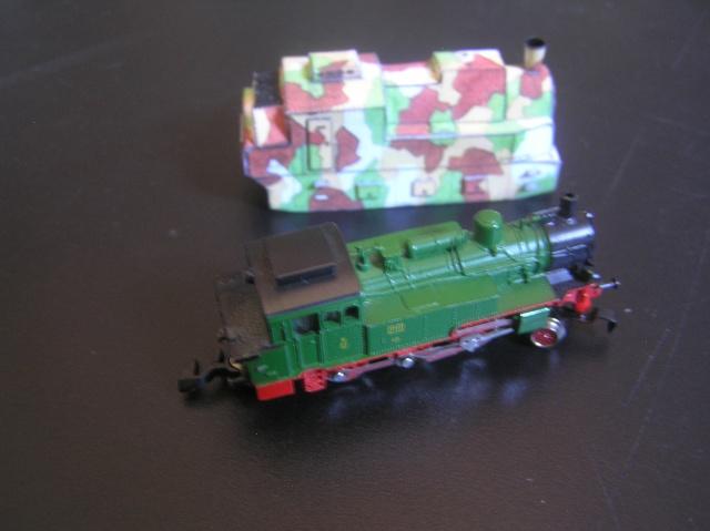 Nouveau train blindé, papier+Marklin. P8260018