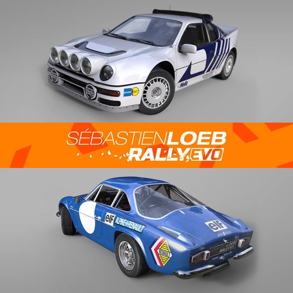 Sébastien Loeb Rally Evo: deux nouveaux modèles à découvrir 11742610