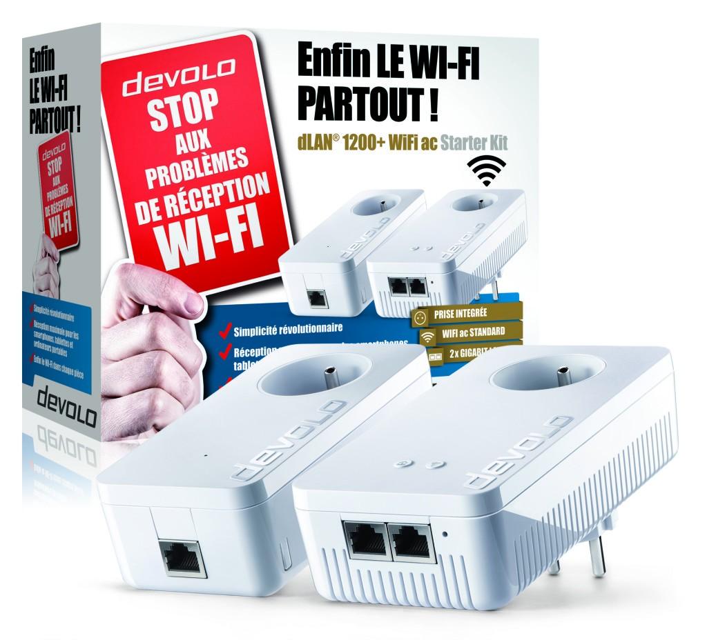 Connectez idéalement votre TV et vos services de streaming avec le dLAN CPL devolo Dlan-110