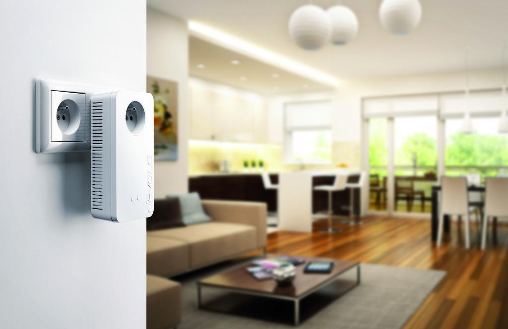 Connectez idéalement votre TV et vos services de streaming avec le dLAN CPL devolo Dlan-111
