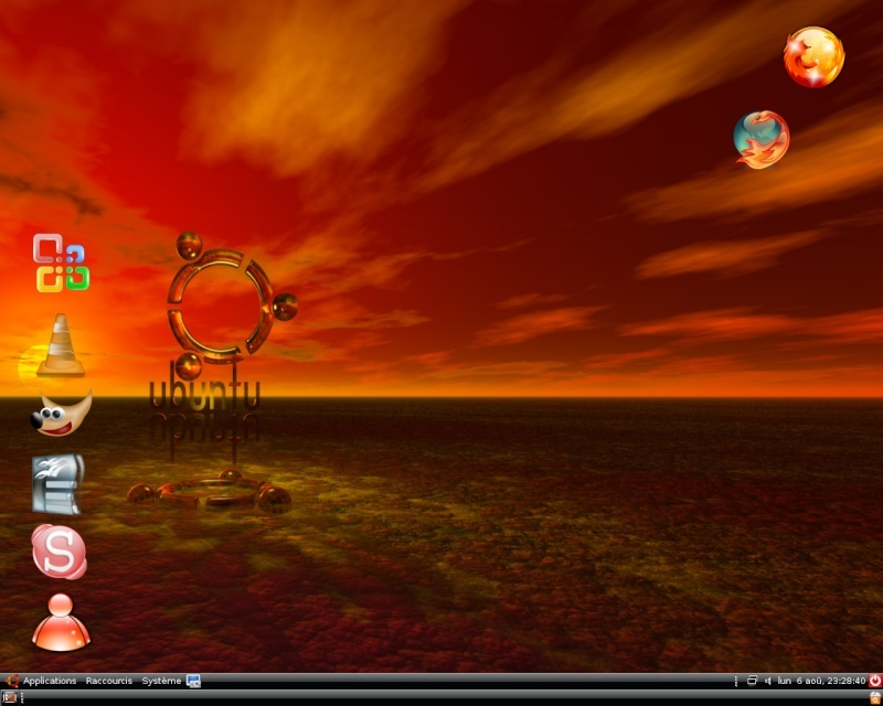 quelques captures de ubuntu 7.04 Snapsh12
