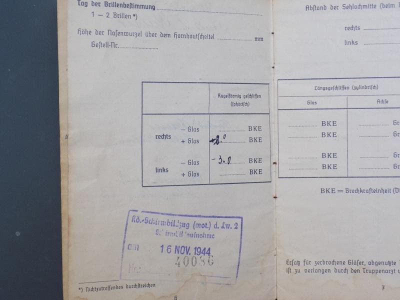 Vos livrets militaires allemands WWII (Soldbuch, Wehrpass..) / Heer-LW-KM-SS... - Page 2 Dscn3257