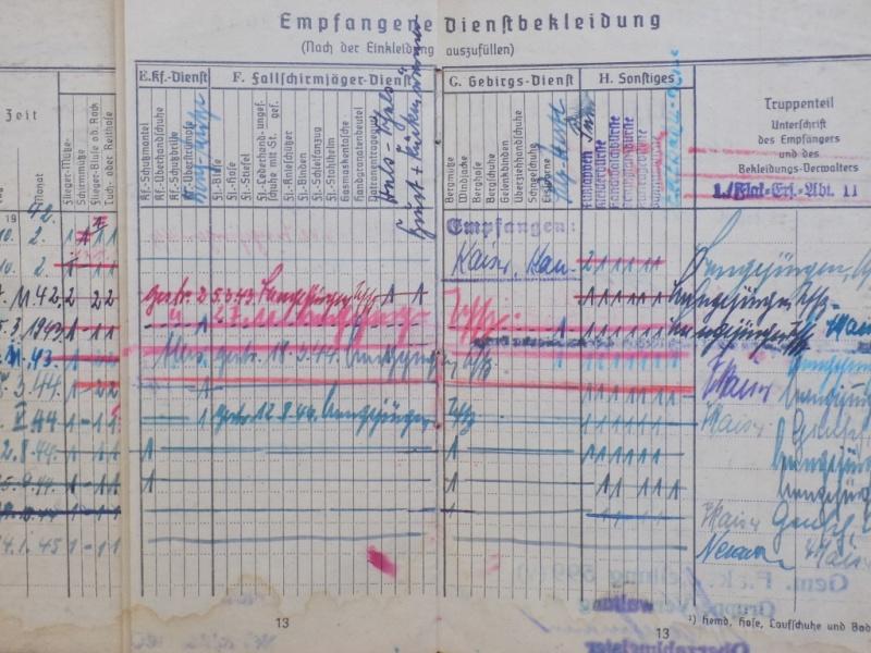 Vos livrets militaires allemands WWII (Soldbuch, Wehrpass..) / Heer-LW-KM-SS... - Page 2 Dscn3261