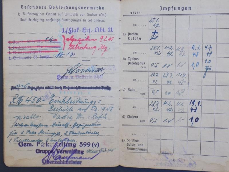 Vos livrets militaires allemands WWII (Soldbuch, Wehrpass..) / Heer-LW-KM-SS... - Page 2 Dscn3262