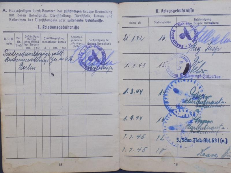 Vos livrets militaires allemands WWII (Soldbuch, Wehrpass..) / Heer-LW-KM-SS... - Page 2 Dscn3263
