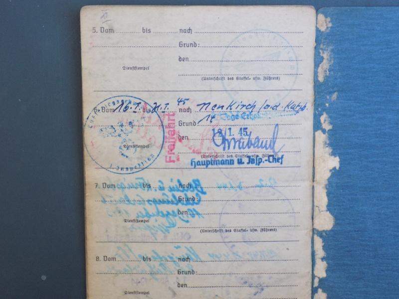 Vos livrets militaires allemands WWII (Soldbuch, Wehrpass..) / Heer-LW-KM-SS... - Page 2 Dscn3311