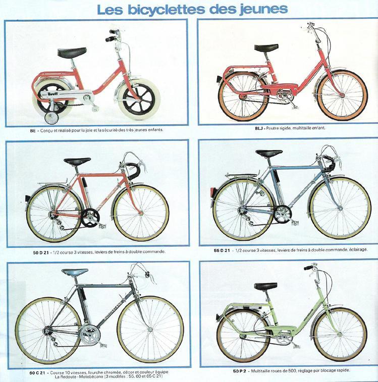 catalogue MOTOBECANE  novembre  1983 Tob83-13