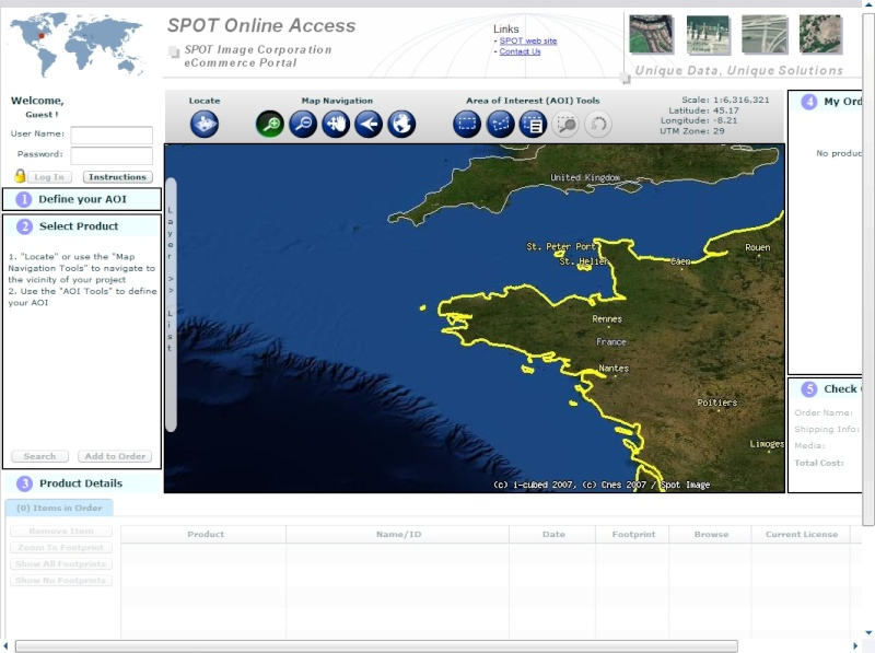 SPOT Online Access Spot_o10