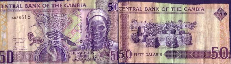 50 Dalasis Gambia 50_dal10