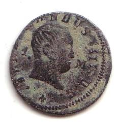 1 Maravedí de Fernando VII (Navarra, 1830 d.C) Fd-vii10