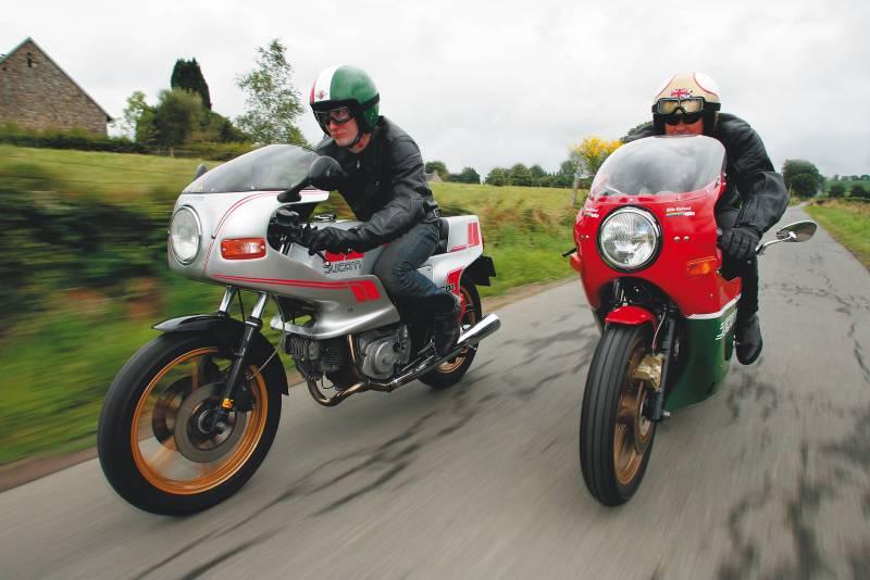 TEST : Ducati 600 Pantah- 900 Mike Hailwood replica Get_im14