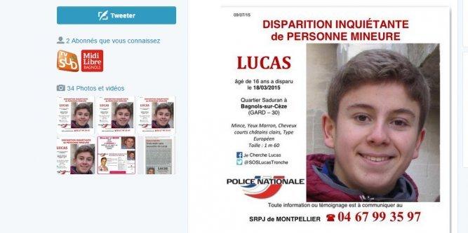 Gard : disparition inquiétante d'un adolescent de 16 ans à Bagnols-sur-Cèze - Page 2 Lucas-10