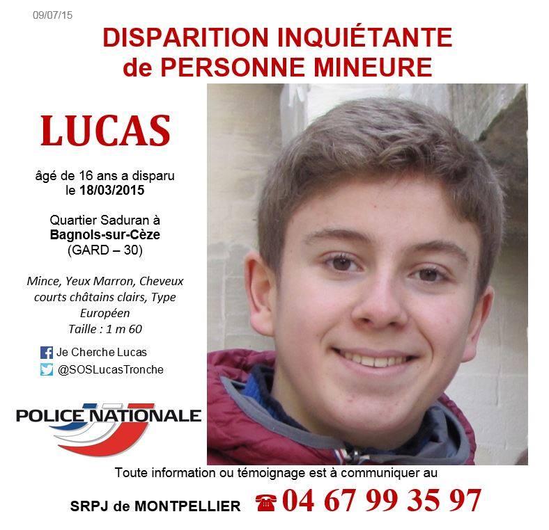 Gard : disparition inquiétante d'un adolescent de 16 ans à Bagnols-sur-Cèze - Page 2 Lucas10