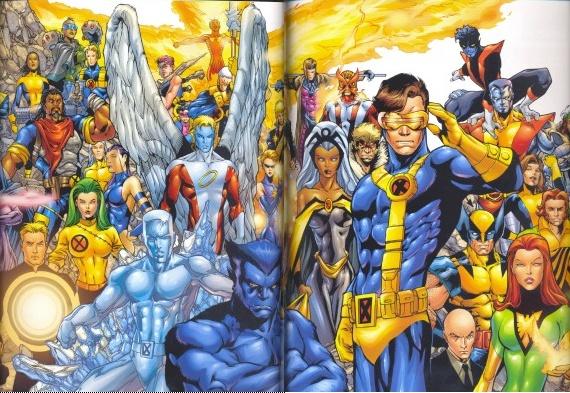 L Histoire Des X Men