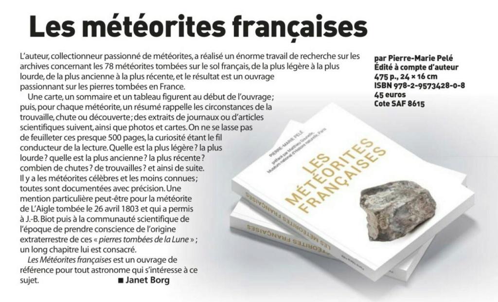 """Livre """"Les météorites françaises"""" - Page 2 Captur18"""