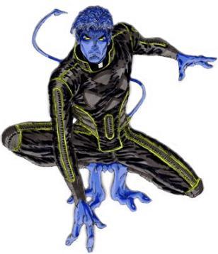 Les x-men : des origines à nos jours... Diablo10