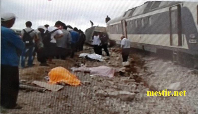 Tunisie:  près de'El Fahes 18 morts, 70 blessés dans un accident entre un train et un camion Train110