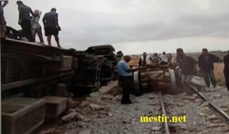 Tunisie:  près de'El Fahes 18 morts, 70 blessés dans un accident entre un train et un camion Train210