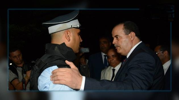 Najem Gharsalli inspecte le dispositif sécuritaire à Monastir Visite10