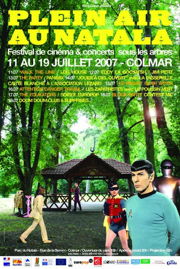 Plein air au Natala, cinéma et musique sous les arbres 469e6710